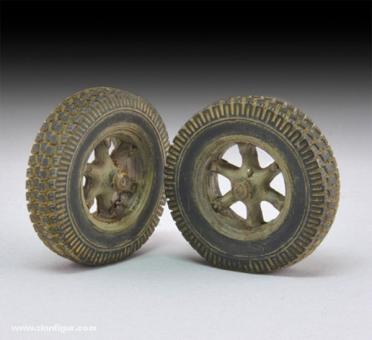 Sd.Kfz. 7 weighted wheels