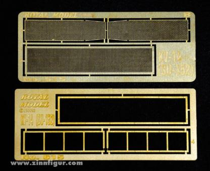 KV-14 (SU-152) Engine Grill Screen