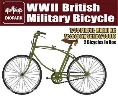 Britische Militär-Fahrräder WW2