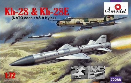 Kh-28 und Kh-28E Raketen