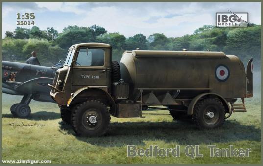 Bedford QL Treibstofftankwagen