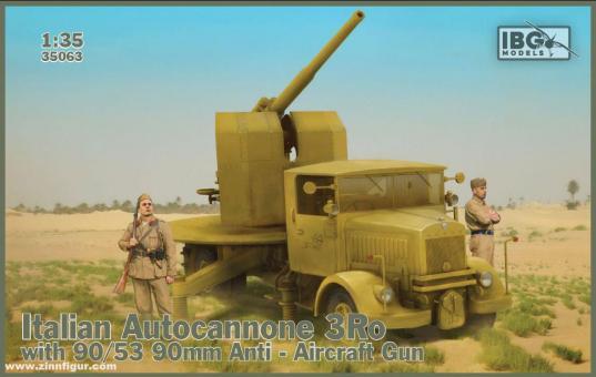 3Ro Lkw mit 90/53 90mm Flak