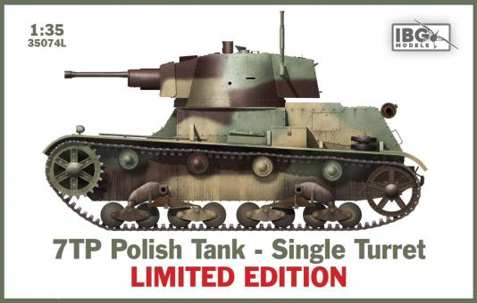 7TP Tank - Single Turret - Limited Edition