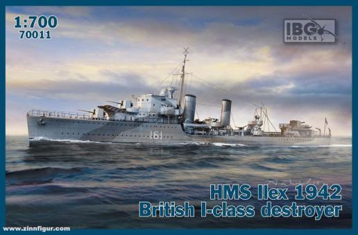 HMS Ilex 1942 - I Klasse Zerstörer