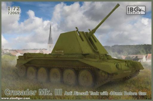 Crusader Mk.III Flakpanzer 40mm Bofors