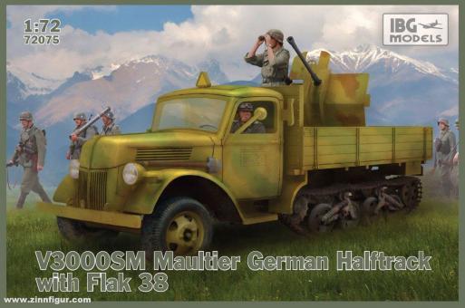 V3000SM Maultier mit Flak 38