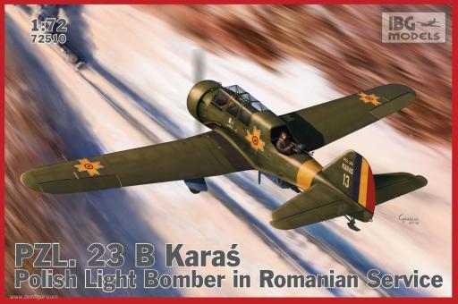 """PZL.23B Karas """"Rumänische Luftwaffe"""""""