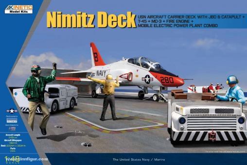 USS Nimitz Flugdeck mit T-45