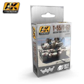 T-55, T-62, T-72 RUSSIAN TANK (RMSH TYPE) WHITE METAL TRACKS