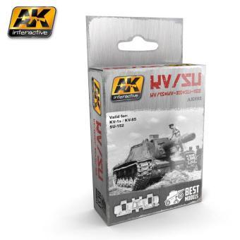 KV-1S/KV-85/SU-152 Panzerkettenset