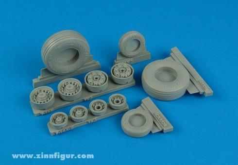 F-14D Super Tomcat Weighted Wheels