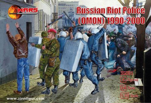 Russian Riot Police (OMON) 1990-2000