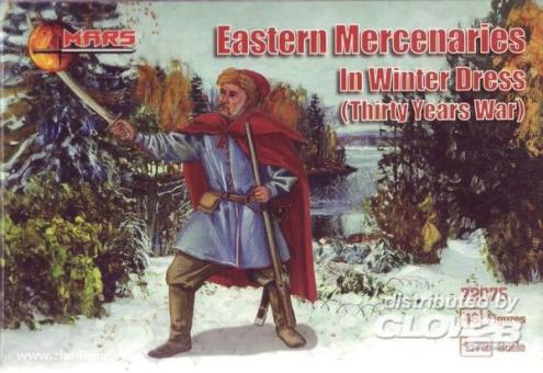 Eastern Mercenaries in Winter Dress