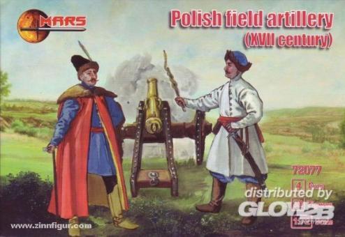 Polnische Feldartillerie 17. Jh.