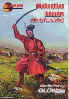 Infanterie der Walachei - 30-jähriger Krieg