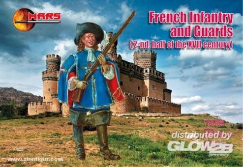 Französische Infanterie und Garde