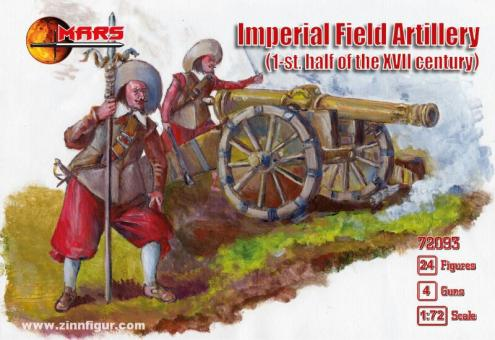 Kaiserliche Feldartillerie - 1. Hälfte 17. Jh.