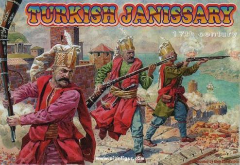 Türkische Janitscharen