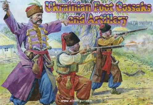 Ukrainian Foot Cossacks and Artillery