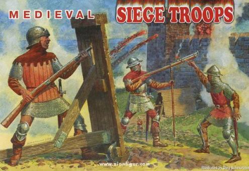 Mittelalterliche Belagerungstruppen