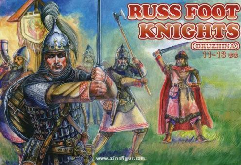 Russischer Ritter zu Fuß (Drushina)