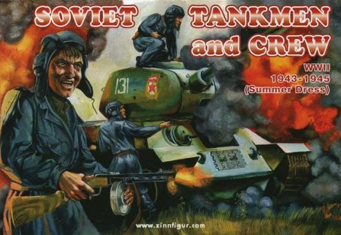 Sowjetische Panzersoldaten