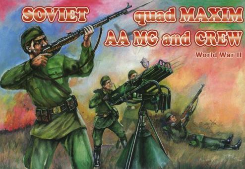 Quad Maxim AA MG und Bedienung