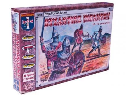Byzantinische Infanterie 10.-13. Jh.