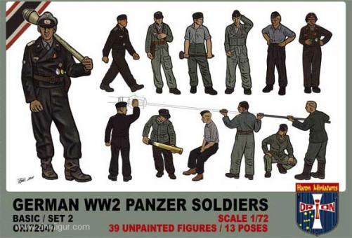 Deutsche Panzersoldaten Set 2