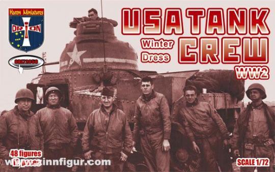US Panzersoldaten - Winter