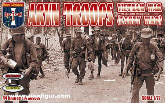 ARVN Südvietnamesische Soldaten - Vietnamkrieg (früh)