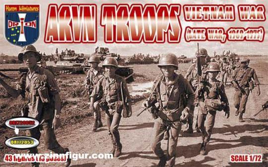 ARVN Südvietnamesische Soldaten - Vietnamkrieg (1969-75)