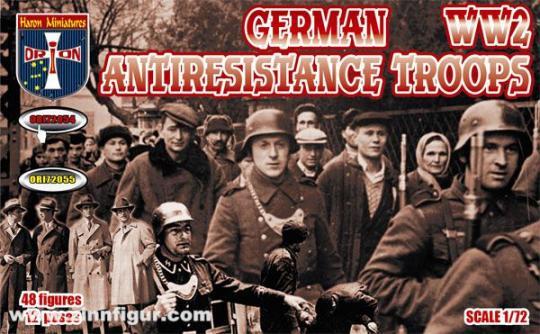 Deutsche Truppen zur Partisanenbekämpfung