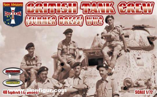 Britische Panzersoldaten - Sommeruniform