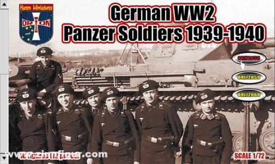 Deutsche Panzersoldaten - 1939-40
