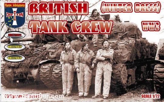 Britische Panzersoldaten - Winter Uniform
