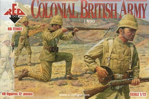 Britische Kolonialarmee