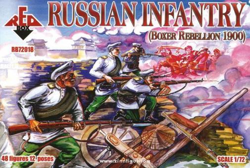Russische Infanterie, Boxeraufstand