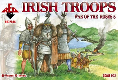 Irish Troops - War of the Roses