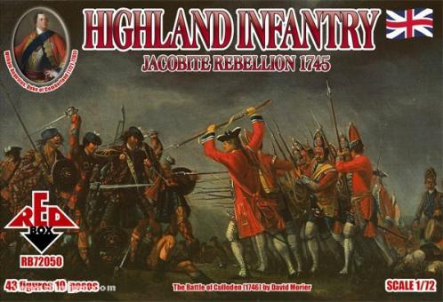 Highland Infantry, Jacobite Rebellion