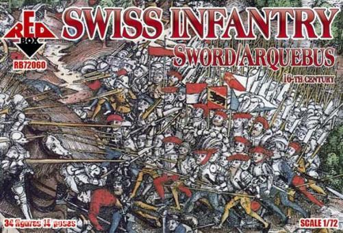 Schweizer Infanterie 16. Jh.