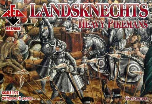 Schwere Landsknecht-Pikeniere