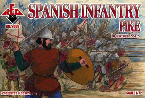 Spanische Infanterie Set 3 - 16. Jh.