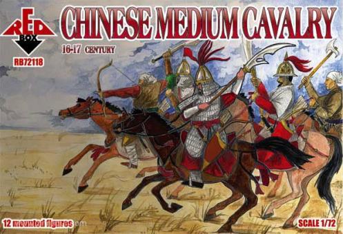Chinesische Mittlere Kavallerie - 16.-17. Jh.