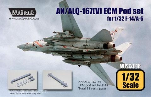 AN/ALQ-167(V) ECM Pod Set für F-14/A-6