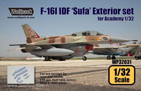 F-16I IDF Sufa Außendetails