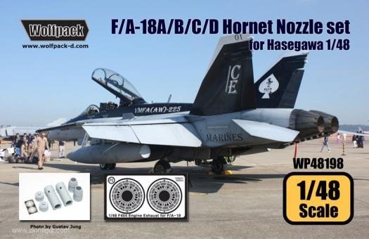 F/A-18A/B/C/D Hornet F404 Düsen