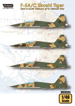 F-5A/C Skoshi Tiger - USAF & Vietnamesische Luftwaffe - Vietnam Krieg