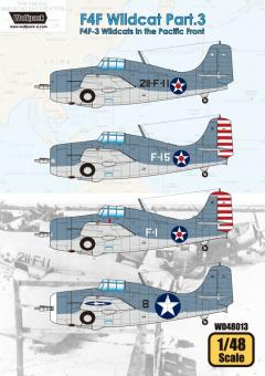 F4F Wildcat Part 3: F4F-3 Wildcats in the Pacific Front