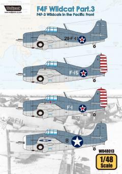 F4F Wildcat Teil 3: F4F-3 Wildcats über dem Pazifik